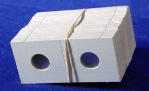 Coin Collectors Supplies: 2x2 Cardboard Coin Holders For Dimes